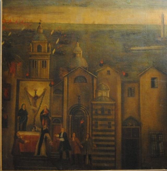 1 – CONVENTO DI S.MARIA DI CASTELLO – GENOVA
