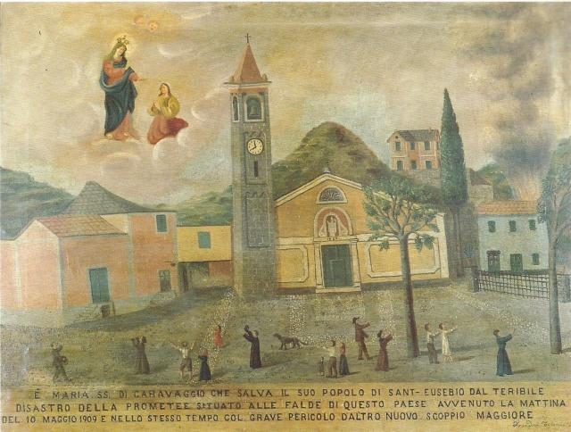 1 – CHIESA PARROCCHIALE SANT'EUSEBIO – GENOVA