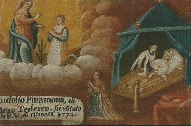 167 – SANTUARIO DELLA MADONNA DI PINE' -MONTAGNAGA (TN)