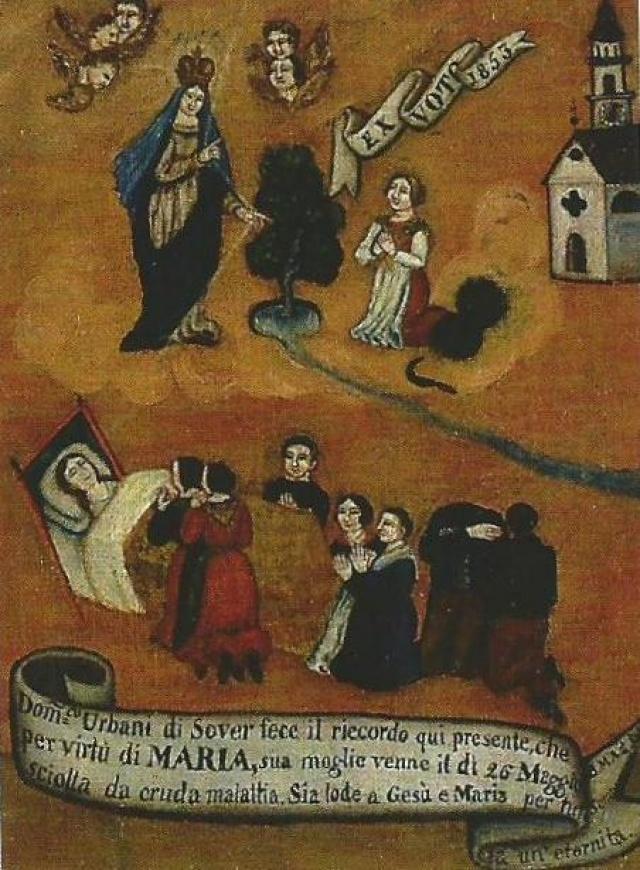 194 – SANTUARIO DELLA MADONNA DI PINE' -MONTAGNAGA (TN)