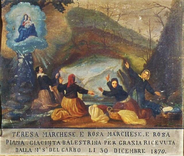 1 – SANTUARIO DI NOSTRA SIGNORA DEL GARBO IN VALPOLCEVERA – GENOVA