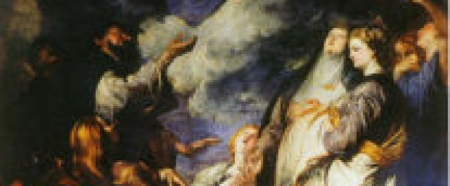 LA MADONNA DEL ROSARIO ALL'ORATORIO DI SAN DOMENICO – PALERMO