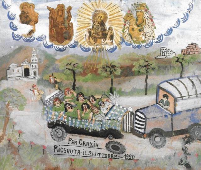 34 – PONTIFICIO SANTUARIO DELLA BEATA VERGINE DEL ROSARIO -POMPEI (NA)
