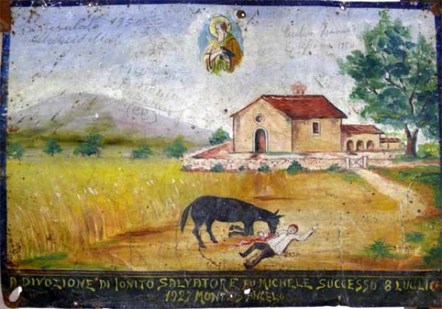 100 – SANTUARIO DI SAN MATTEO DEI FRATI MINORI SUL GARGANO