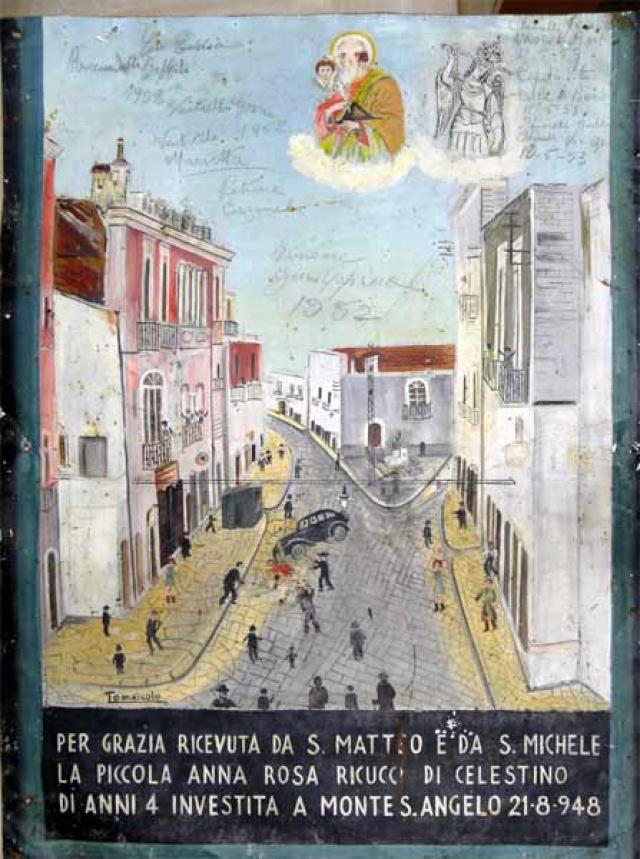 155 –  SANTUARIO DI SAN MATTEO DEI FRATI MINORI SUL GARGANO