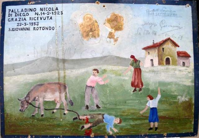 195 –  SANTUARIO DI SAN MATTEO DEI FRATI MINORI SUL GARGANO