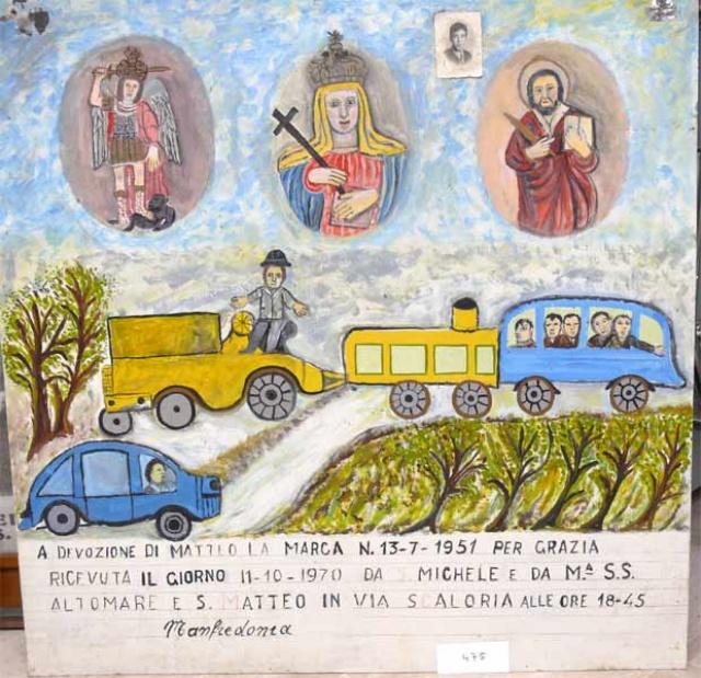 311 – SANTUARIO DI SAN MATTEO DEI FRATI MINORI SUL GARGANO