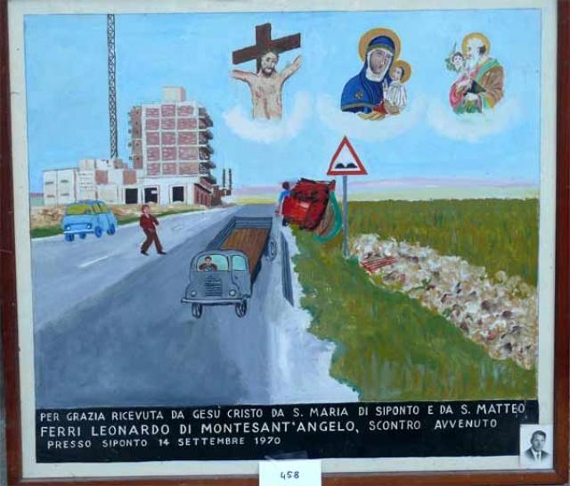 312 – SANTUARIO DI SAN MATTEO DEI FRATI MINORI SUL GARGANO