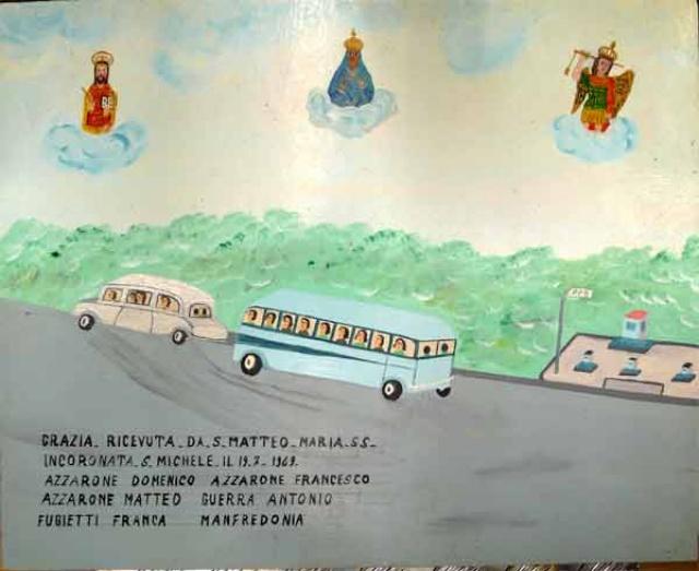 316 – SANTUARIO DI SAN MATTEO DEI FRATI MINORI SUL GARGANO