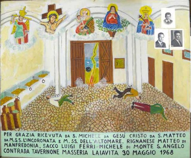 320 – SANTUARIO DI SAN MATTEO DEI FRATI MINORI SUL GARGANO