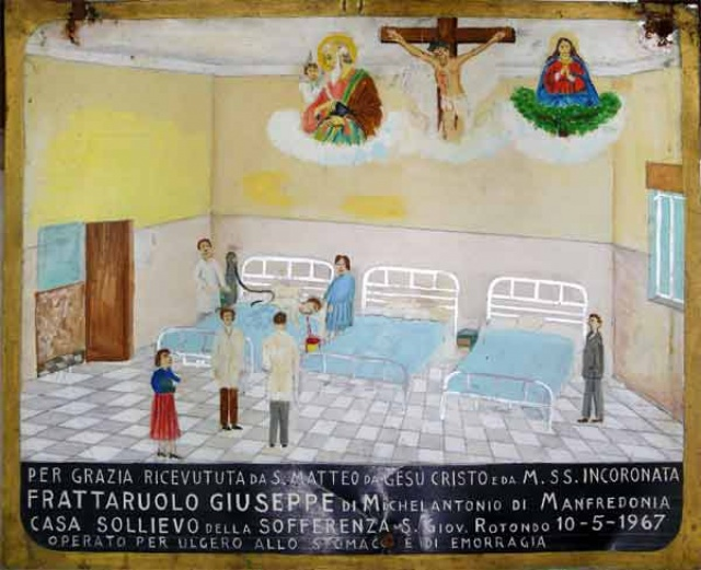 325 – SANTUARIO DI SAN MATTEO DEI FRATI MINORI SUL GARGANO