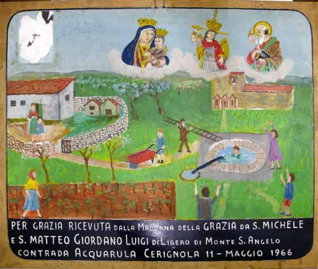 332 – SANTUARIO DI SAN MATTEO DEI FRATI MINORI SUL GARGANO