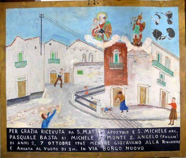 343 – SANTUARIO DI SAN MATTEO DEI FRATI MINORI SUL GARGANO
