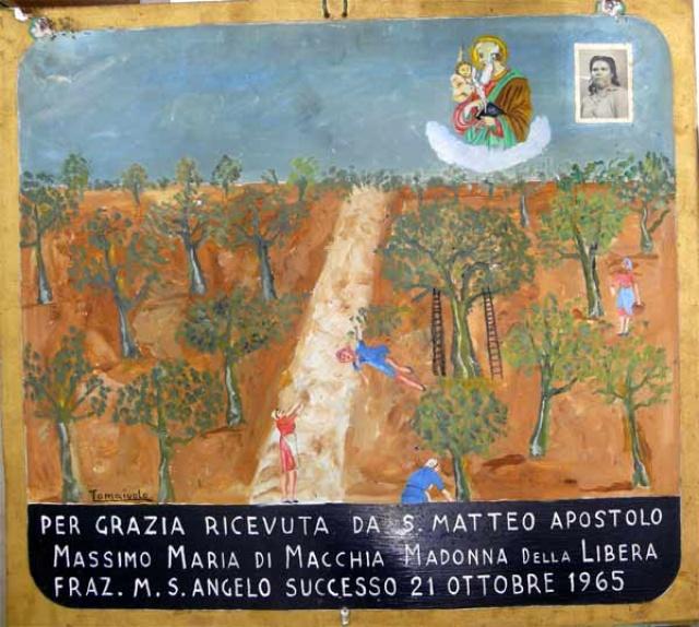 346 – SANTUARIO DI SAN MATTEO DEI FRATI MINORI SUL GARGANO
