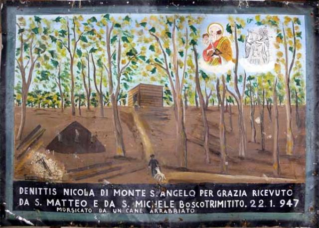373 – SANTUARIO DI SAN MATTEO DEI FRATI MINORI SUL GARGANO