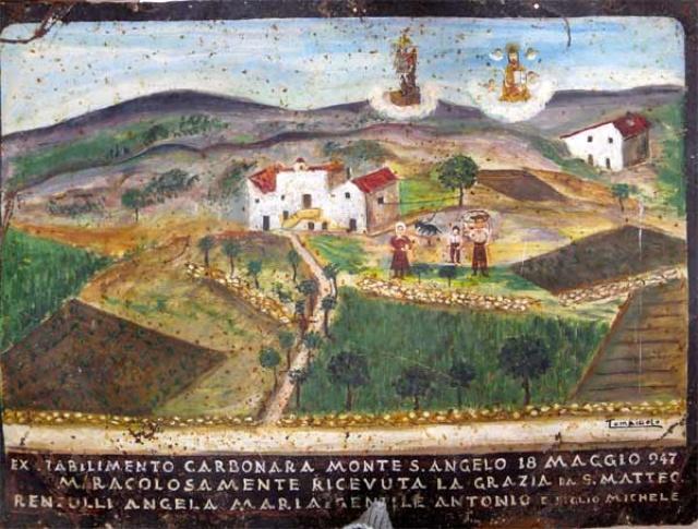 377 – SANTUARIO DI SAN MATTEO DEI FRATI MINORI SUL GARGANO