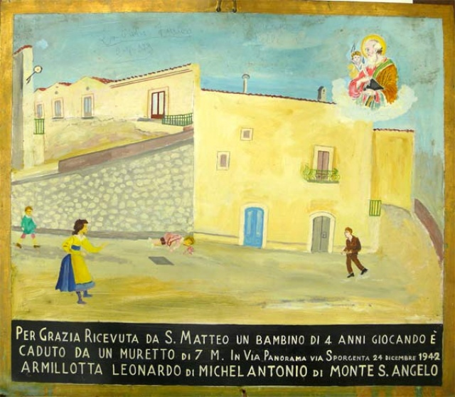 403 – SANTUARIO DI SAN MATTEO DEI FRATI MINORI SUL GARGANO