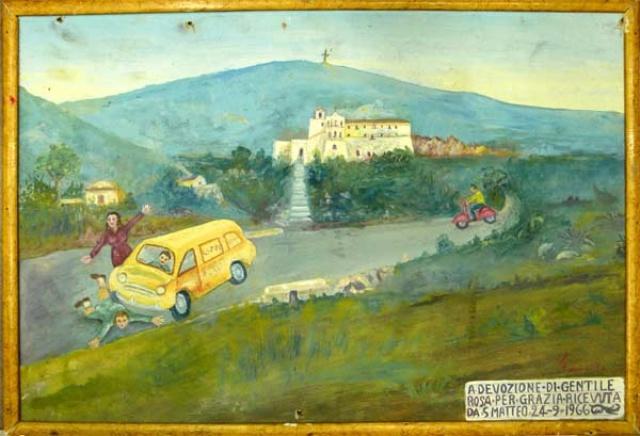 409 –  SANTUARIO DI SAN MATTEO DEI FRATI MINORI SUL GARGANO