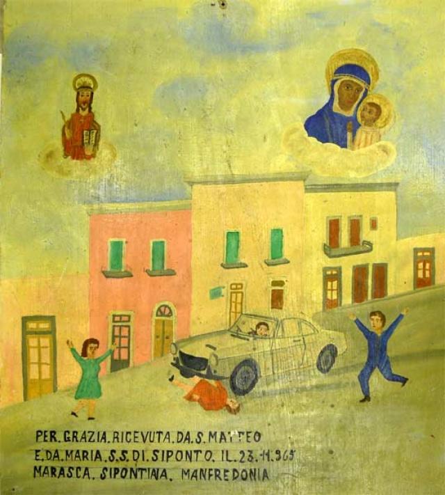 416 – SANTUARIO DI SAN MATTEO DEI FRATI MINORI SUL GARGANO