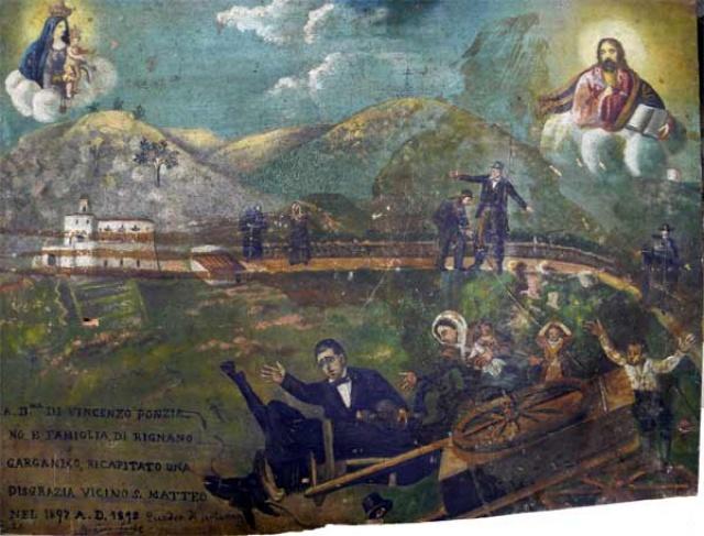 96 – SANTUARIO DI SAN MATTEO DEI FRATI MINORI SUL GARGANO