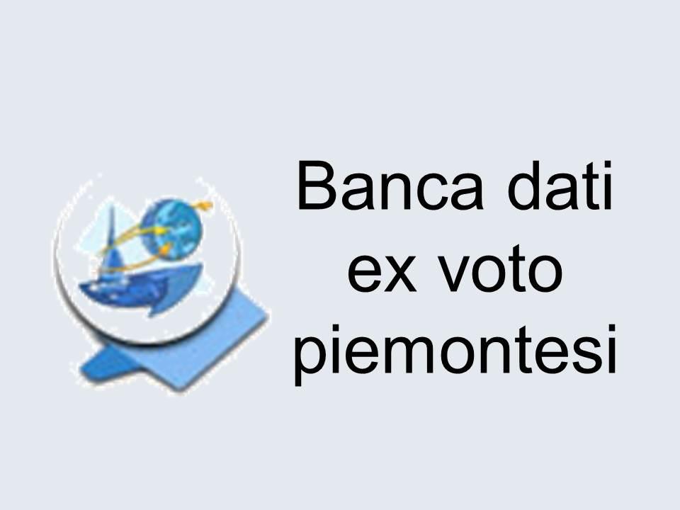 BANCA DATI EX VOTO PIEMONTESI