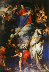 Van Dyck_- Madonna del Rosario