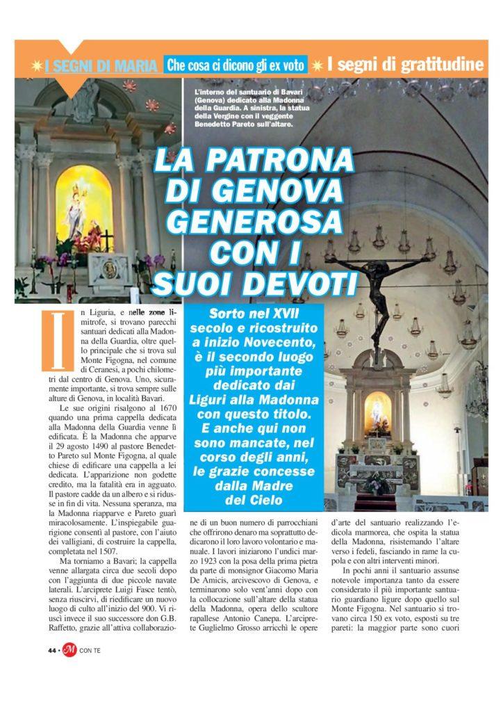23 - 1 - Il Santuario della Madonna della Guardia di Bavari -GE