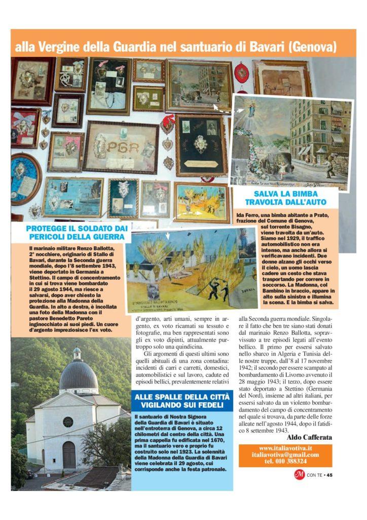 23-2 - Il Santuario della Madonna della Guardia - Bavari - GE